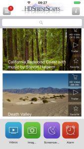 HDSereneScapes® App