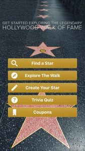 Official Hollywood Walk of Fame App