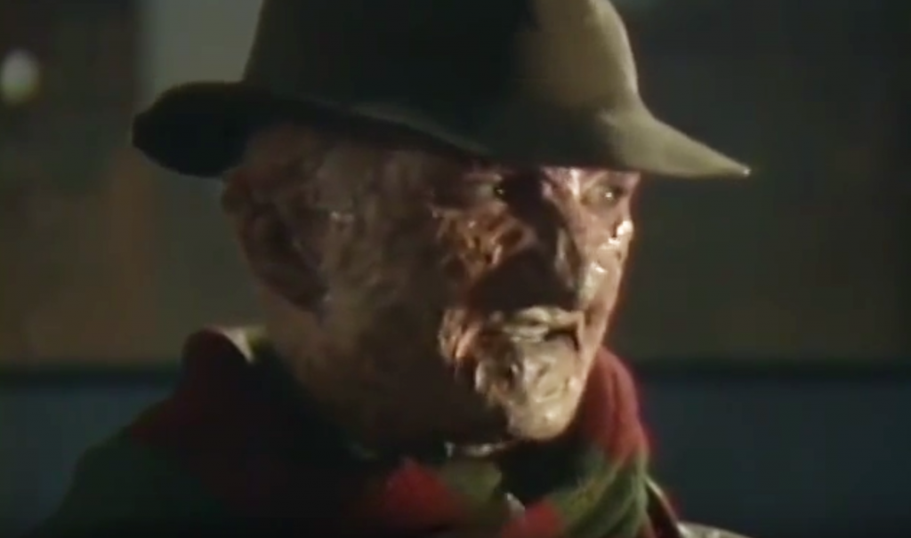 Robert Englund as Freddy Krueger from Nightmare on Elm Street