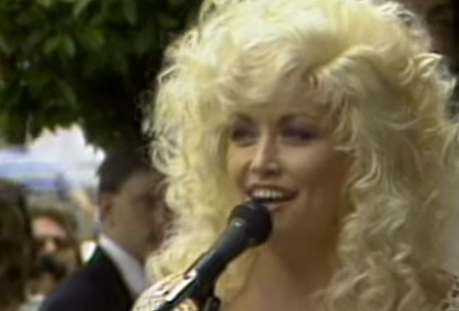 Dolly parton's Official Hollywood Walk of Fame Star Ceremony