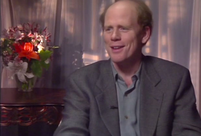 Ron Howard Producer of Mars