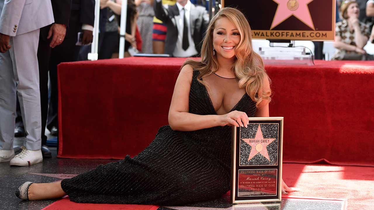 Mariah Carey get a Star on the Hollywood Walk of Fame