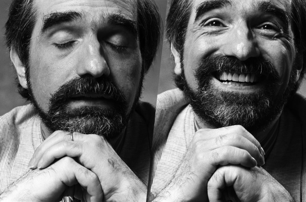 Martin Scorsese by Norman Seeff, Silence