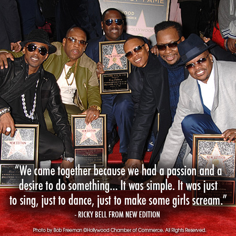 New Edition gets a Star on the Hollywood Walk of Fame