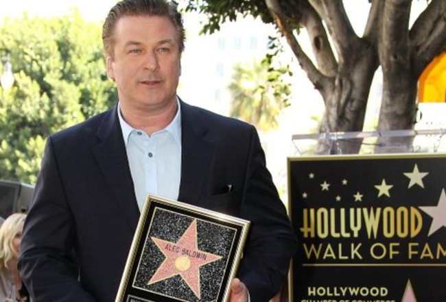 Alec Baldwin, Hollywood Walk of Fame
